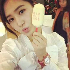 Yul & ice cream SNSD