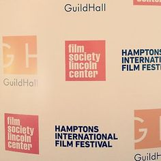 We're working on set-up for special 7/27 screening of 'Babette's Feast' at Guild Hall I #Film I hamptonsfilmfest.org #HIFF12