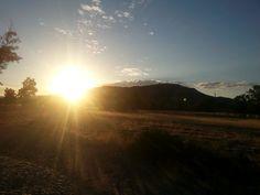 Los primeros rayos del sol (septiembre 2014)