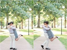 A UNC Chapel Hill Engagement Session | NC Wedding Photographer | Michelle Robinson Photography