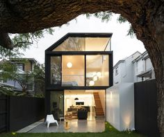 #Addition for a victorian house in Sydney, Australia, by Christopher Polly Architect #patio