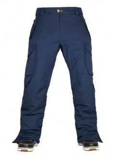a068fb2ec The 686 Men's Infinity Cargo Insulated Snowboard Pants offer you infinite  protection from the elements while you are working hard on the slopes.