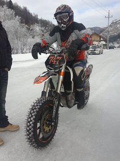 Ktm for the ice
