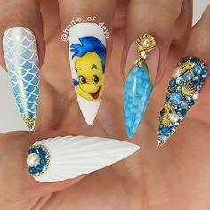 Phenix Salons Tri State : What are your weekend plans? Us: Disney Plus Disney plus: Your nail tech: Ariel: Snow White: Cinderella: Belle: Disney Acrylic Nails, Summer Acrylic Nails, Best Acrylic Nails, Acrylic Nail Designs, Summer Nails, Dope Nails, Swag Nails, 3d Nails, Disney Inspired Nails