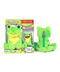 Take a look at this Frantic Frog Plush game by Wiggles 3D on #zulily today! $12 !!