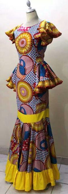 Ysand ~African fashion, Ankara, kitenge, African women dresses, African prints, African men's fashion, Nigerian style, Ghanaian fashion ~DKK