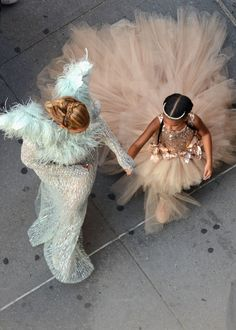Yes, Blue Ivy Carter may be only four, but the amount of custom Gucci in her…