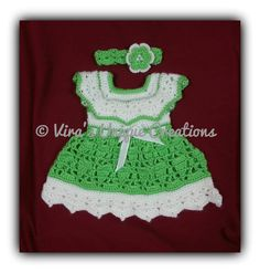 Hey, I found this really awesome Etsy listing at https://www.etsy.com/listing/205963808/crochet-baby-girl-dress-with-matching