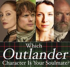 "Which ""Outlander"" Character Is Your Soulmate? It would have been awesome to get Jamie but I'll settle for the second best, Murtagh :)"