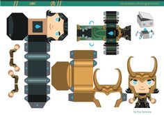 Blog_Paper_Toy_papertoy_LOKI_template_preview