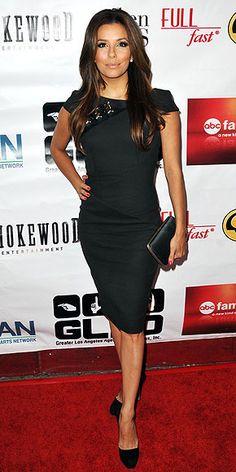 EVA LONGORIA   she has such a beautiful elegant and beautiful style. She always looks so glam ...