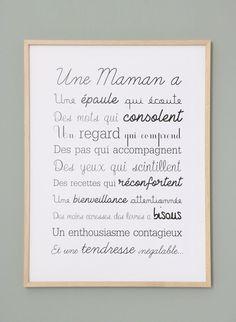 Affiche Exclusive Une Maman A | Etsy