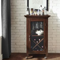 Fresh Jefferson Portable Bar Cabinet