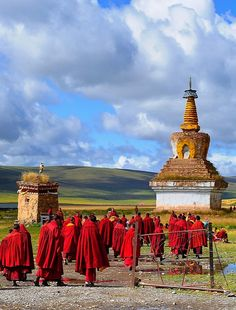 Sershul Tekchen Dargyeling monastery, TIBET / by reurinkjan via Flickr