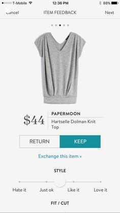 Papermoon Hartselle Dolman Knit Top - gray - Stitch Fix