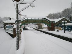 Okehampton station, Devon. Disused Stations, Continental Europe, London Christmas, Irish Sea, Dartmoor, North Sea, Let It Snow, Devon, Winter Wonderland