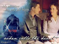 When Calls The Heart - season 3 Elizabeth Thatcher, Erin Elizabeth, Jack And Elizabeth, Jack Thornton, Murdoch Mysteries, Erin Krakow, Hallmark Channel, With All My Heart, Perfect Couple