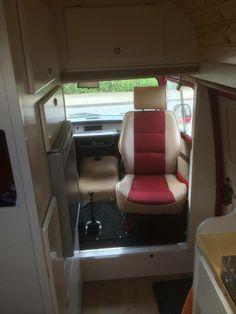 Renault Estafette conversion to camper van