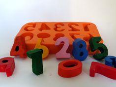 Forma de Silicone Números