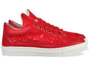 Rode Zecchino D'oro kinderschoenen 7442 sneakers