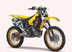 1994 Japanese Factory Suzuki RH250 of Kyle Lewis