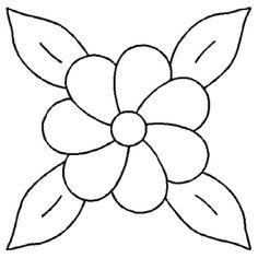 Imagenes De Flores Bonitas Para Colorear Faciles Cross Stitch