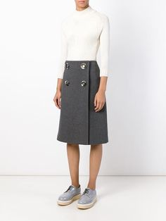 Stella Mccartney Double Breasted Skirt - Maria Store - Farfetch.com