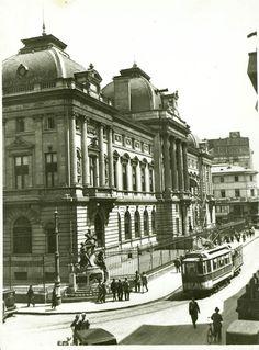 Nicolae Ionescu (1903 - 1975) Fotograf al Bucurestilor – altmarius Romania, Louvre, Street View, 1975, Building, Travel, Vintage, Greece, Bucharest