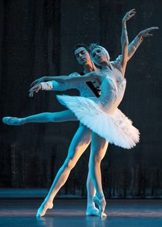 Svetlana Zakharova and Alexander Volchkov in Swan Lake