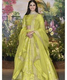 Gorgeous Alia.... Ready for Sona Reception......~Follow me Nimisha Neha