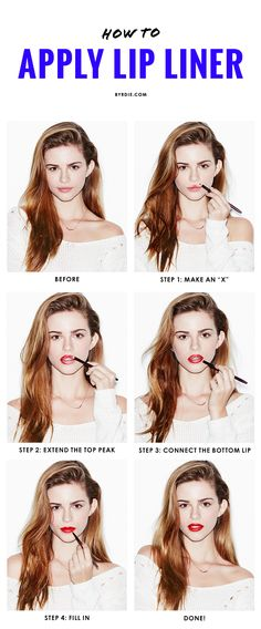 The 4-step trick to perfecting your cupid's bow