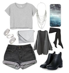 """""""Storm Clouds"""" by bluedaisywhale ❤ liked on Polyvore featuring мода, PèPè, Monki, H&M, Topshop, Express, Via Spiga, women's clothing, women и female"""