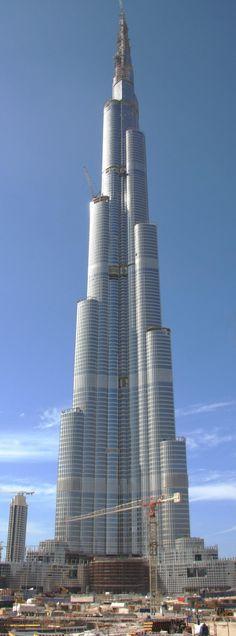 Tallest Building in the World Burj Khalifa in Dubai