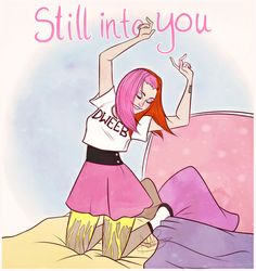 Still Into You Art Paramore Hayley Williams