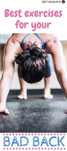 Back off, back pain! Here are the 10 best exercises to work into your current strength routine that will help get you on the path of a healthier, happier body!
