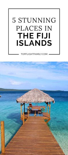 When you travel tо Fiji, you'll be able to see 300 islands ѕсаttеrеd across crystal-blue waters. Here are five beautiful places to visit.
