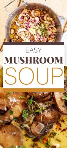 I really want to try new low carb soup recipes and this Healthy Mushroom Soup looks so good! I can't wait to cook this easy meal for my family. It looks like the perfect keto comfort food. SO PINNING Low Carb Soup Recipes, Gluten Free Recipes For Breakfast, Healthy Gluten Free Recipes, Chowder Recipes, Gluten Free Dinner, Keto Dinner, Lunch Recipes, Easy Dinner Recipes, Keto Recipes