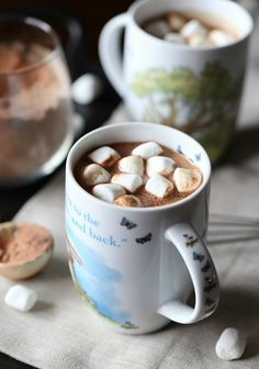 Homemade Hot Chocolate Mix - Cookies and Cups
