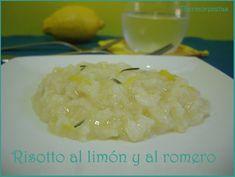 Risotto al limón y al romero Pasta Thermomix, Empanadas, Soul Food, Quinoa, Grains, Rice, Favorite Recipes, Cooking, Diet Ideas