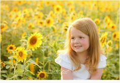 www.rachaelmcanuff.com sunflower, flowers, field, red head, kids, photo session