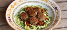 "Black Bean ""Meat""balls via Plant Based on a Budget"
