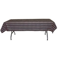 Black gingham plastic table cover Esquisite http://www.amazon.com/dp/B0047QLJZ8/ref=cm_sw_r_pi_dp_yHPwvb0QJ246C