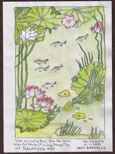fish-in-lotus-pond
