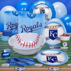 Kansas City Royals party supplies at Birthday Express