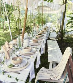 Garden party aux couleurs de la nature - PLANETE DECO a homes world
