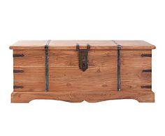 Baúl en madera de acacia I - natural