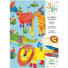 Djeco DIY knutselset 6 dieren vriendjes: voor creatieve kinderen is deze knutselset met 6 dieren vriendjes echt geweldig. From www.kidsdinge.com                 https://www.instagram.com/kidsdinge/    https://www.facebook.com/kidsdinge/    #Kids #Toys #Speelgoed #kidsroom #onlinestore #Brasschaat #Belgium #kidsdinge