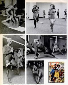 Rare photos buried deep and found by Bikram Yoga NYC feature singer Freda Payne in the September 1975 issue of Ebony magazine.