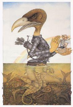 WAYNE ANDERSON Wayne Anderson, Creepy, Scary, Stranger And Stranger, Surrealism, Childrens Books, Whimsical, Weird, Fantasy