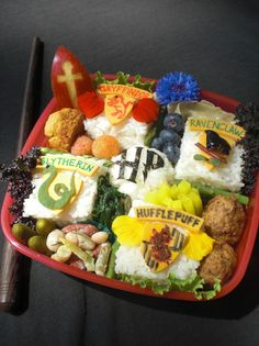 Harry Potter Bento Box Lunch